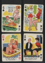 Pinup Collectors Playing Cards . Fun Pack circa 1950's